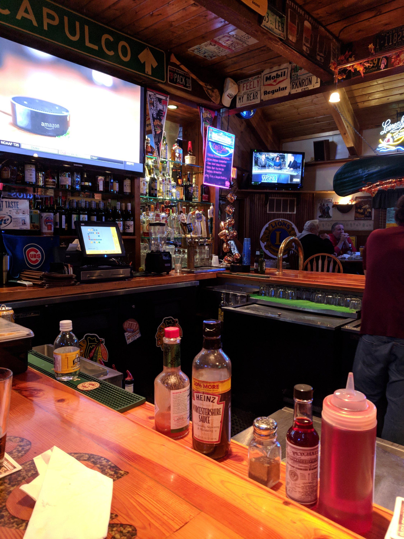 Bar at Stone Creek.