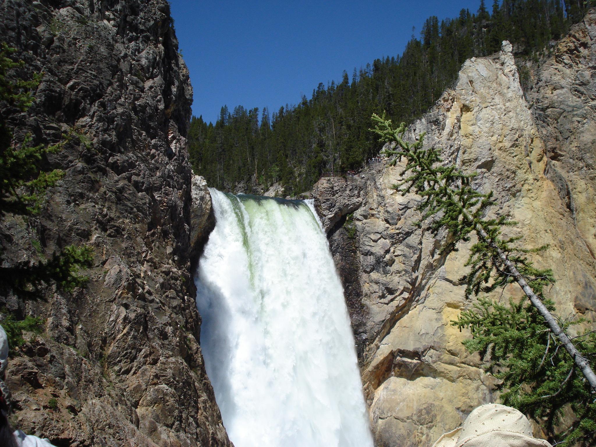 Waterfalls in Yellowstone are Beautiful