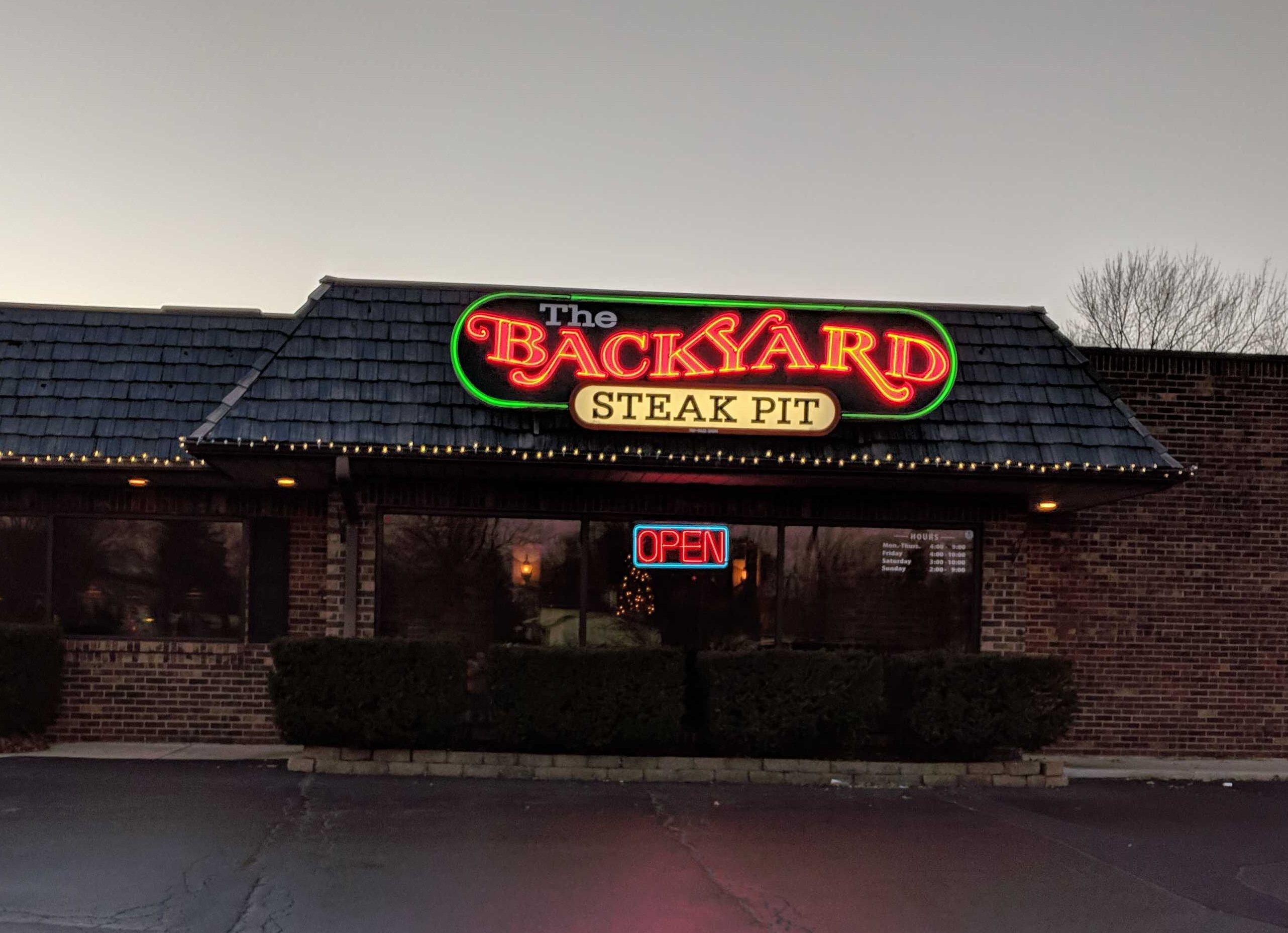 Backyard Steak Pit – Gurnee