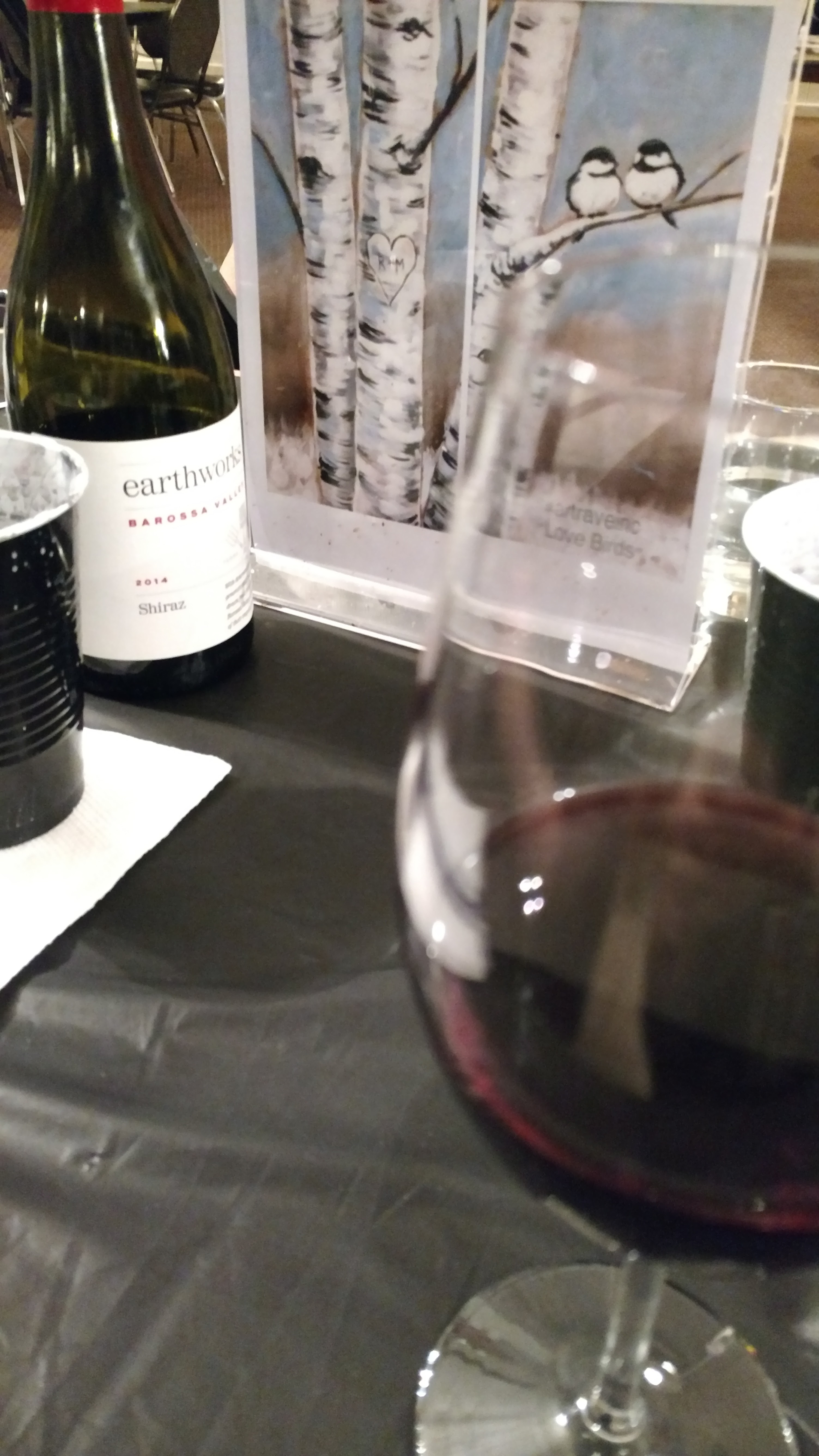 Paint Party and Drinking Wine - Tips for serving wine at parties