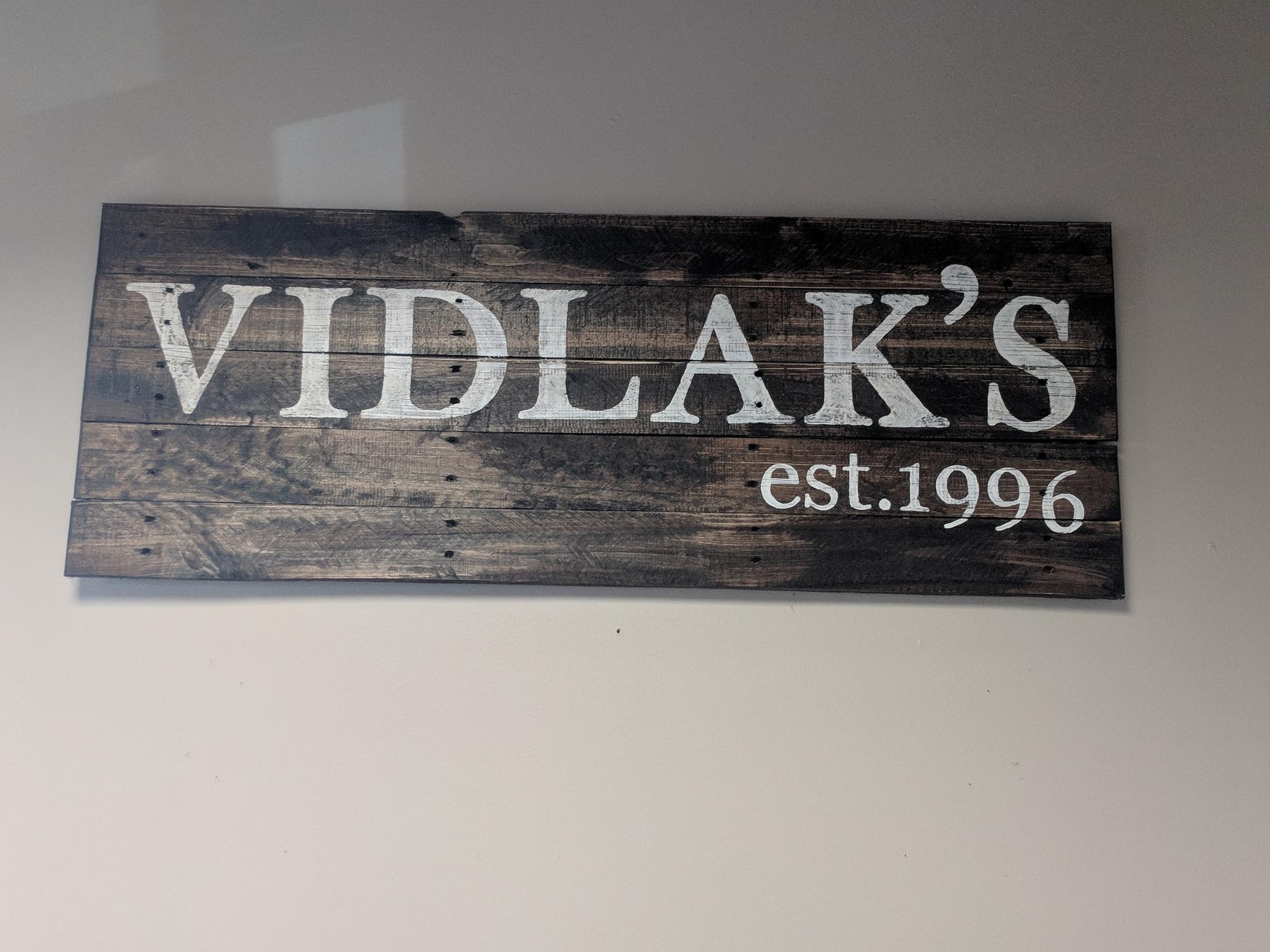 Vidlak's Sign