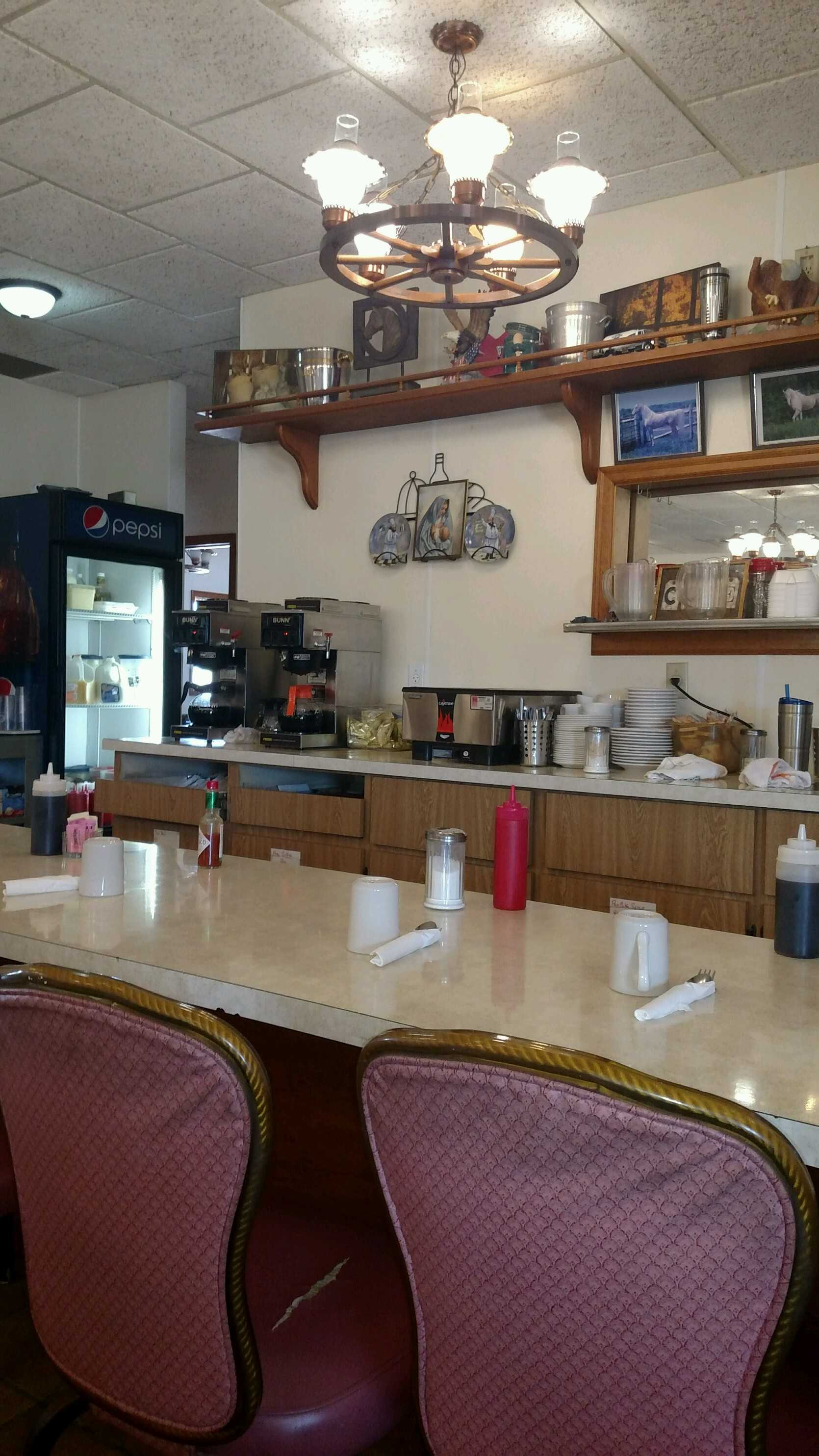 Cascade Cafe Counter