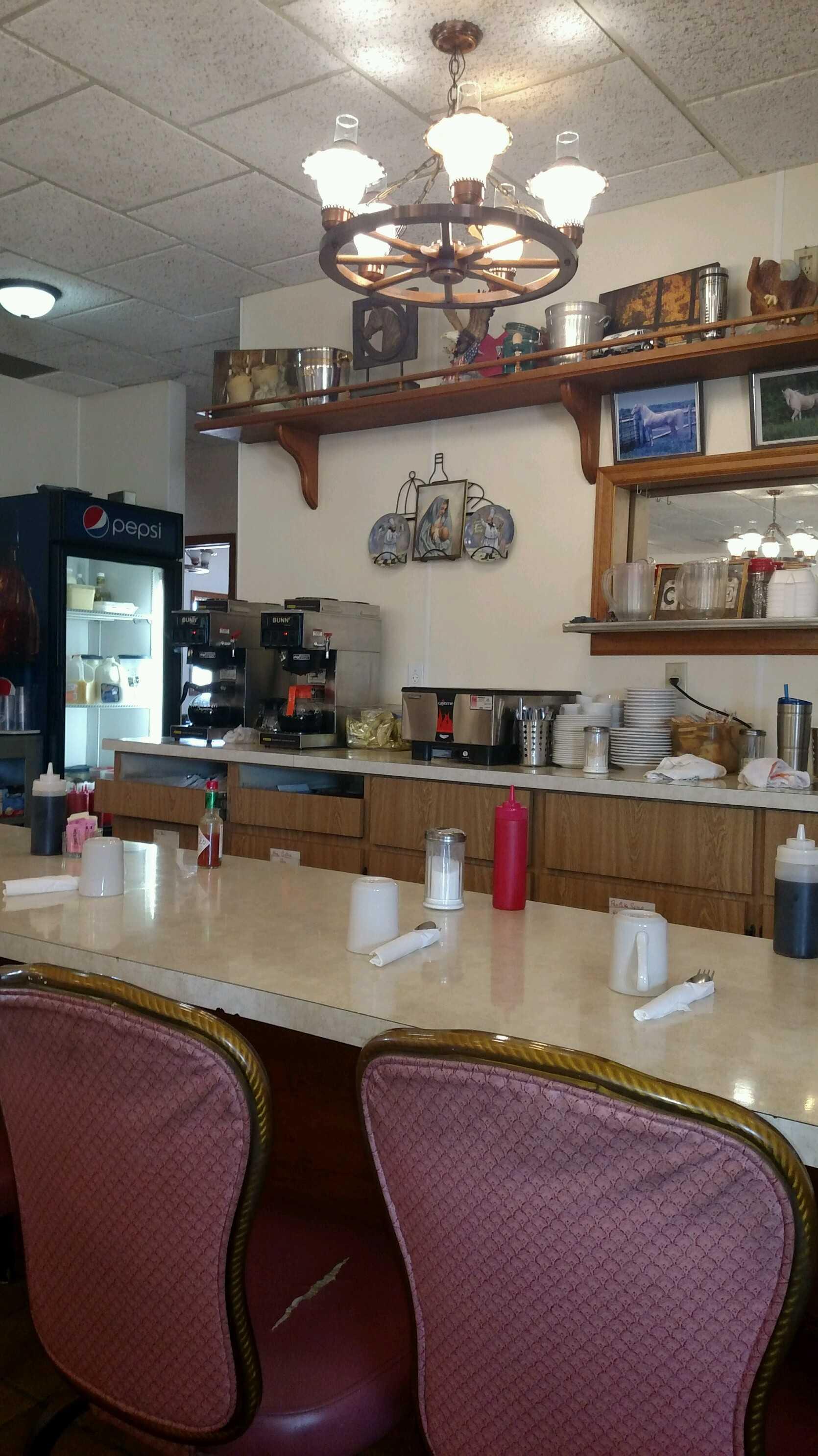 Cascade Cafe Counter