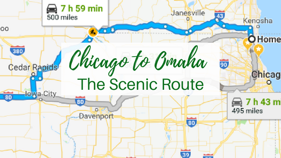 Chicago to Omaha – The Scenic Route