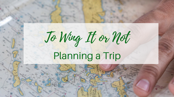 To Wing-it or Not – Planning a Trip