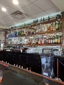 The bar at The Illinois Beach Hotel