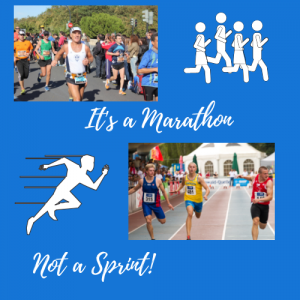 Blogging is a Marathon, Not a Sprint