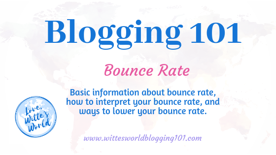 What Blogger's Need to Know About Bounce Rates