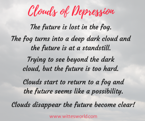 Clouds of Depression A Poem by Linda Witte