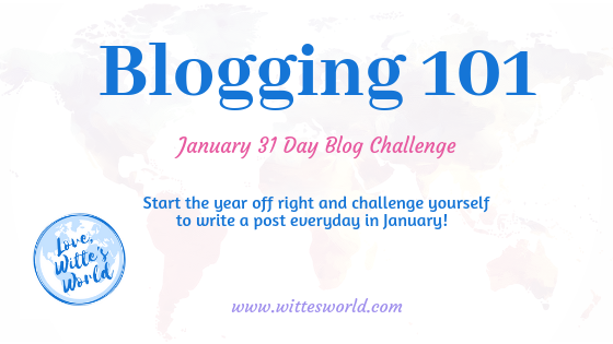 January Mind, Body, and Writing Challenge