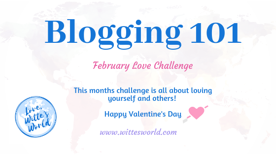 February Love Blogging/Writing Challenge