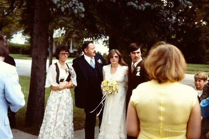 Our Wedding Fred and Linda